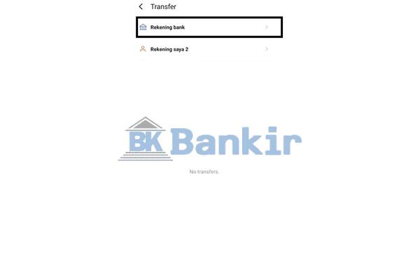 Tap Rekening Bank