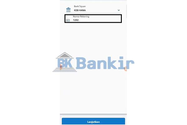 Tempel Nomor Rekening Line Bank