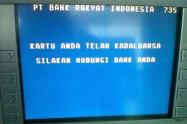 ATM BRI Terblokir