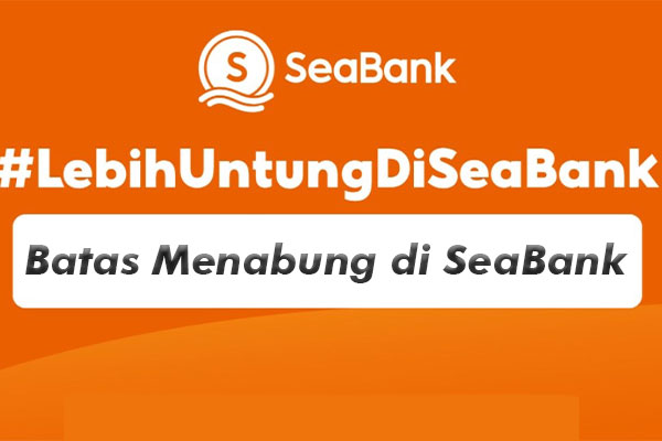 Batas Pengisian Saldo SeaBank Dari Mandiri Online