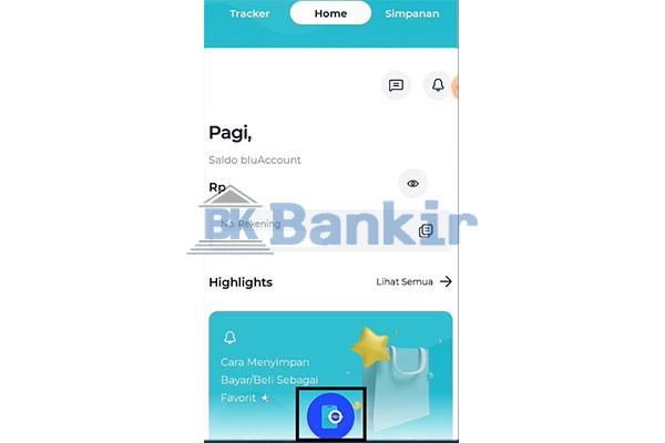 Buka Aplikasi Blu BCA