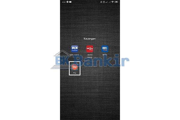 Buka Aplikasi Flip Banking