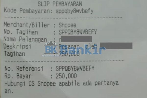 Isi Saldo ShopeePay Berhasil