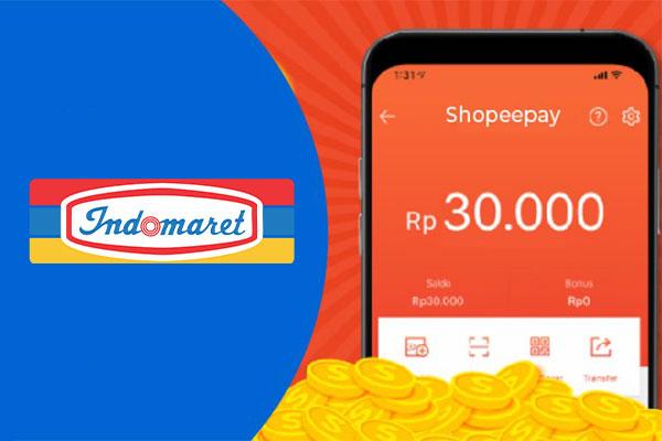 Limit Isi Saldo ShopeePay via Indomaret