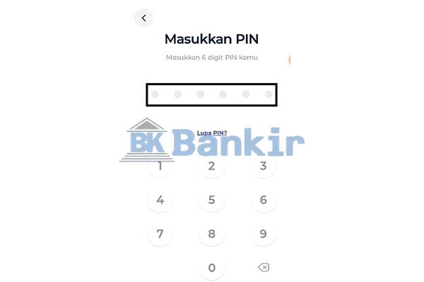 Masukkan PIN Blu BCA