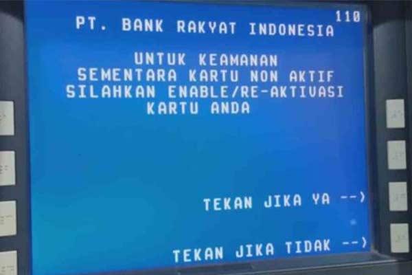 Penyebab Chip Pada ATM BRI Tidak Terbaca
