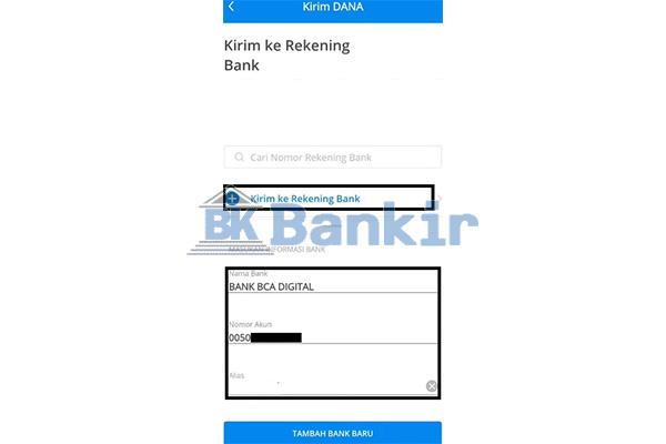 Tambah Akun Bank