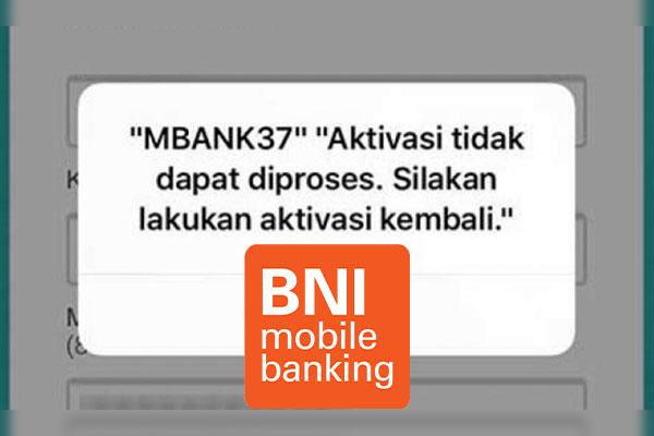 Aktivasi BNI Mobile Gagal Terus