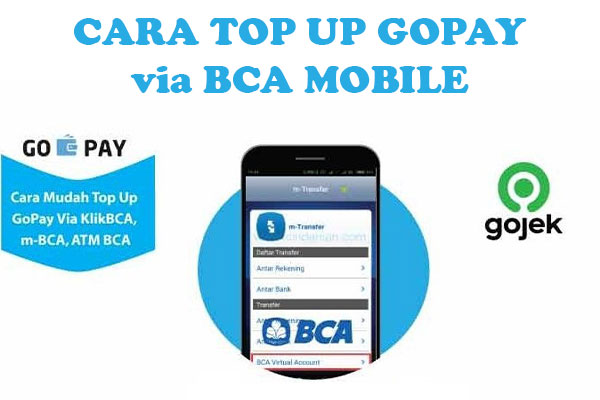 Cara Top Up GoPay via BCA Mobile