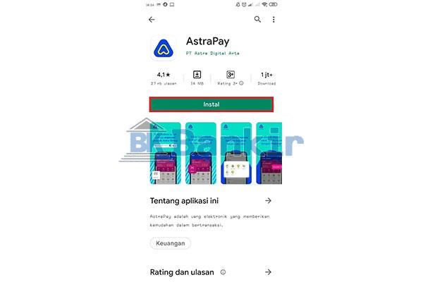 Install Aplikasi AstraPay