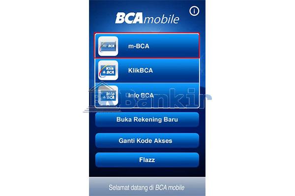 Jalankan BCA Mobile