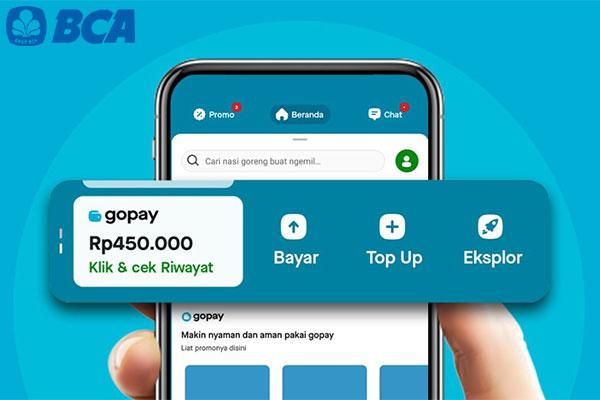 Limit Top Up GoPay via BCA Mobile