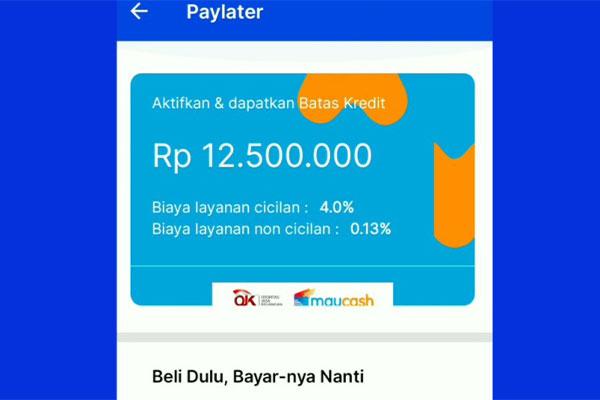 Cara Mengaktifkan PayLater AstraPay 1